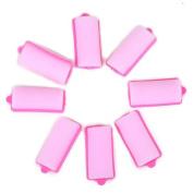 "HDE 3.2cm "" Soft Foam Hair Rollers Cushion Curlers - 8 Pack"
