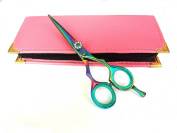 Professional Hairdressing Scissors Hair Cutting Shears Barber Salon Styling Scissors 13cm Japanese Steel RAZOR EDGED With Case titanium