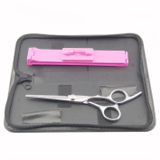 Surker Hairdressing Scissors, Hair Scissors, for Bangs and Fringe Trimming , with Presentation Case