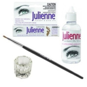 Julienne 4 Piece Light Brown Eyelash Tinting Kit by Natures Curve