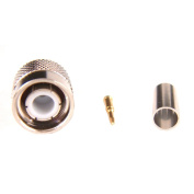TNC plugs male pin for HDF200 cable