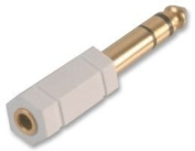 Pike & Co. Technologies 3.5MM TO 6.35MM JACK ADAPTOR (Pack of 1) - Min 3yr Cleva Warranty