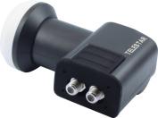Tele-starling SkyTwin HC Low Noice block (0.1 dB, Full-high-density, HDTV, 3D, 190 mA) black