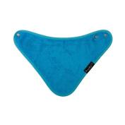 Mum2Mum BANDANA Wonder Bib - TEAL BLUE - Super Absortbent - Protects Against Eczema - 100% Cotton