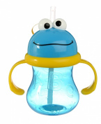 Munchkin 240ml Cookie Monster Straw Cup