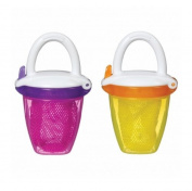 Munchkin Deluxe Fresh Food Feeder, Pink/Yellow