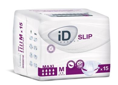 Euron - iD Expert Slip Maxi Medium Pack of 15 (hips 80-125cm)