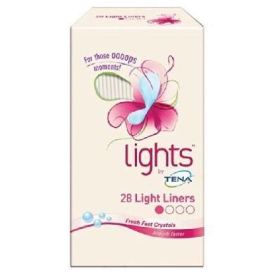 Tena Lady Lights Light Liners 28 per pack