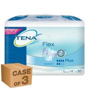 3 x TENA Flex Plus Large x 30