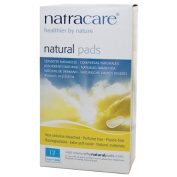 Natracare Natural Pads Super - 12 x Packs of 12, total 144 pads