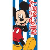 Disney Mickey Mouse Striped Towel.