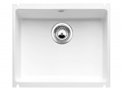 Blanco Blancosubline 500-U 514506 Sink Ceramic Crystal White