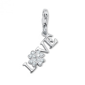 s.Oliver 405867 Sterling Silver 925 Charm