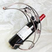 Eastlion Romantic leaves and the moon Single Wine Bottle Holder Elegant Wine Rack