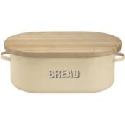 Beautiful Vintage Kitchen Bread Bin - Cream.