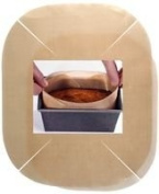 Inventive-Action TOASTABAGS - UCTL2P - CAKE/LOAF TIN LINER, 23CM DIAMETER - Tube of 2 - Min 3yr ClevaUK Warranty
