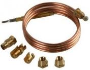 Supreme-Optimised EUROPART - 14-UN-05 - GAS THERMOCOUPLE KIT, 90CM - 1 Kit - Min 3yr ClevaUK Warranty
