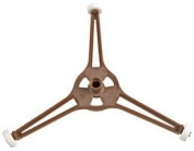 Cutting-Edge EUROPART - 75-UN-15 - TURNTABLE SUPPORT, TRIPOD ARM, UNIVERSAL - Pack of 1 - Min 3yr ClevaUK Warranty