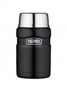 Genuine Thermos Brand Stainless King Food Matte Black 0.7L