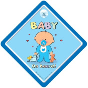 Baby on Board Sign, Blue Cutie, Baby on Board Car Sign, baby on board, Baby Car Safety Sign