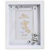 my christening photo frame
