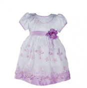 Cinda Satin Christening Party Dress