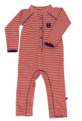 Smafolk Unisex Baby Long Sleeve Bodysuit with Velvet