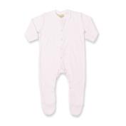 Larkwood Baby Unisex Plain Long Sleeved Sleepsuit (6)