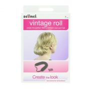 Scunci Girls and Womens Brown Vintage Hair Roll Kit By in Brown