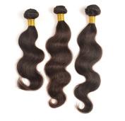 Mixed lengths 3pcs/lot,300g, brazilian virgin hair extensions 100% unprocessed human Body wave natural colour