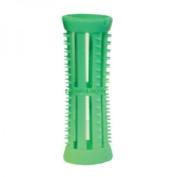 SKELOX Plastic Hair Rollers/ Curlers 12 x 18mm Green + Free Pins!