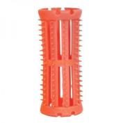 SKELOX Plastic Hair Rollers/ Curlers 12 x 26mm PINK + Free Pins!