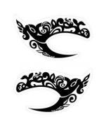 Eyeshadow Eye Liner Sticker Temporary Tattoos Face Sticker Makeup
