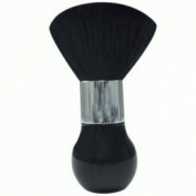 Jet Large Dust Brush Tall Handle Black