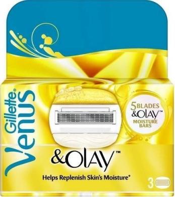 Gillette Venus & Olay Replacement Razor Cartridges x 3