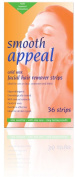 Smooth Appeal Hypoallergenic Facial Waxing Strips 36 Pieces