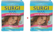 Surgi Facial Hair Removal Wax Twin Pack 28g each