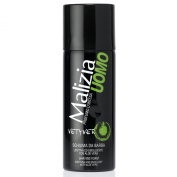 5Pack Malizia Uomo Vetyver Travel Shaving Foam 5x 50ml