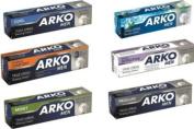 ARKO MEN SHAVING CREAMS x 6 COMBO SET ***FREE UK DELIVERY***
