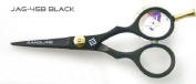 Professional Moustache Scissors and Beard Trimming Scissors, Extremely Sharp - Black