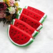 atdoshop 1PC Creative Fruit Lovely Cartoon Watermelon Coin Bag Purse Wallet