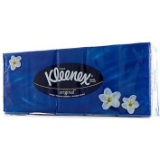 KLEENEX ORIGINAL POCKET10 TISSUES. 10 PACKS - 1 PACK