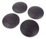 Fisual Round Self Adhesive Isolation Pads For Audio Equipment - Pack of 4