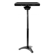 Invero® Floor Mount Bracket Stand Clip for Microsoft Xbox 360 Kinect Sensor - Black