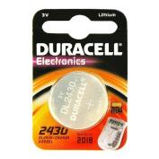 Duracell BATTERY CR2430 3V, CR2430