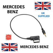 MERCEDES BENZ SLK A B C CLS E M R S SL SLK CLASS A0018279204 3.5mm jack MP3 iPod in car Cable replacement