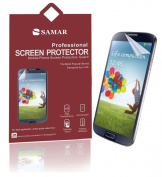 SAMAR® - Supreme Quality for for for for for for for for for for Samsung Galaxy S4 Mini Matte (Anti Glare Edition) Screen Protector (Pack of 6) Retail Packed - Includes Microfiber Cleaning Cloth