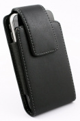 GENUINE LEATHER SWIVEL HOLSTER BELT CLIP POUCH CASE COVER FOR APPLE IPHONE 3G 3GS 4 4S