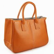 tinkertonk Woman Celebrity Vintage Ladies PU Leather Satchels Tote Purse Bag Handbag