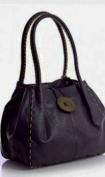 Big Handbag Shop Trendy Designer Boutique Faux Leather Large Button Detail Shoulder Bag
